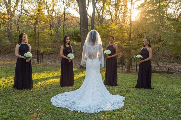 My Wedding Dress And Veil From Terry Costa Yelp