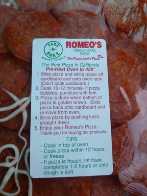 Romeo S Pizza And Subs Takeout Delivery 13 Reviews Pizza 4207 E Olive Ave Fresno Ca Restaurant Reviews Phone Number Yelp