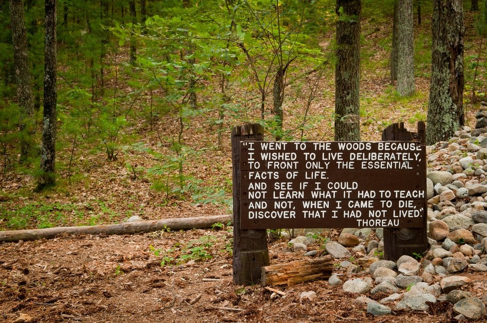 quote from thoreau s walden yelp