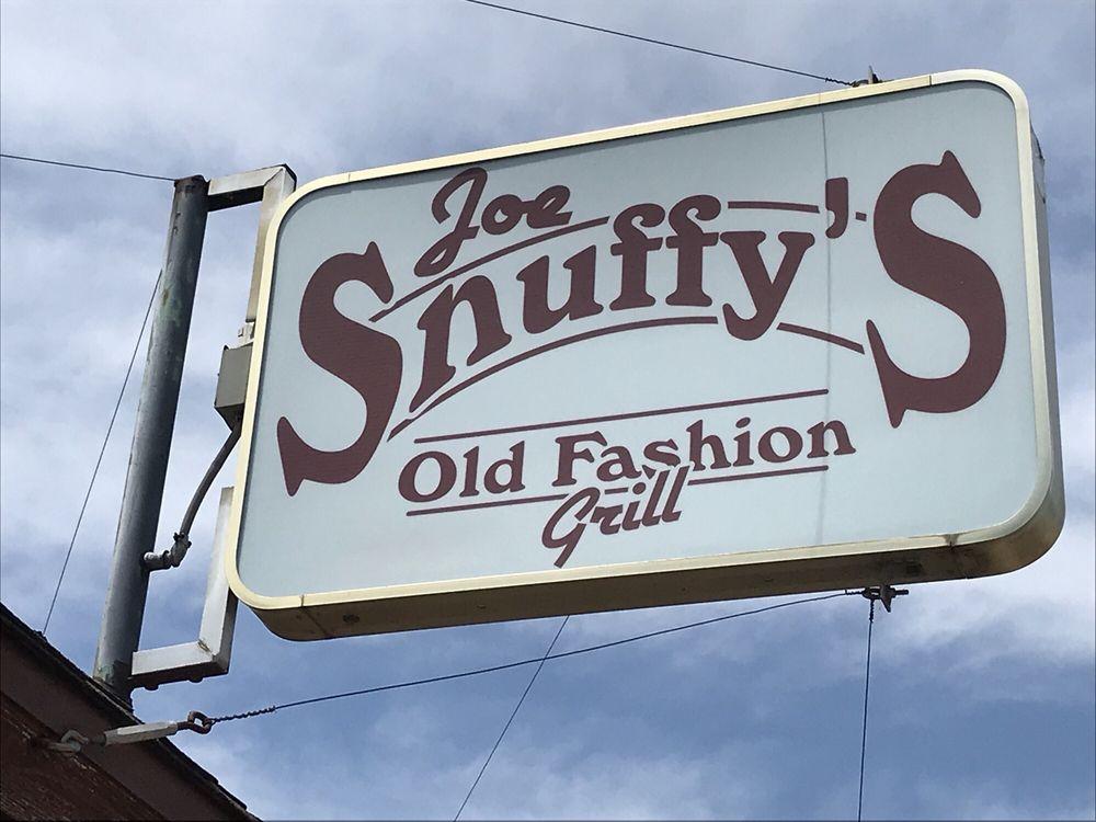 Joe Snuffy/'s Old Fashion Grill Abilene Kansas Coffee Mug