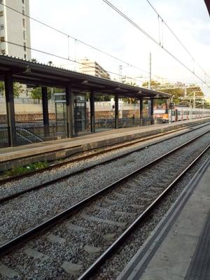 Estación Renfe Hospitalet Del Llobregat Train Stations Avinguda Josep Tarradellas I Joan S N L Hospitalet De Llobregat Barcelona Spain