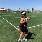 Photo of Live In Fitness - Long Beach, CA, United States. I played flag football for the first time in my life!