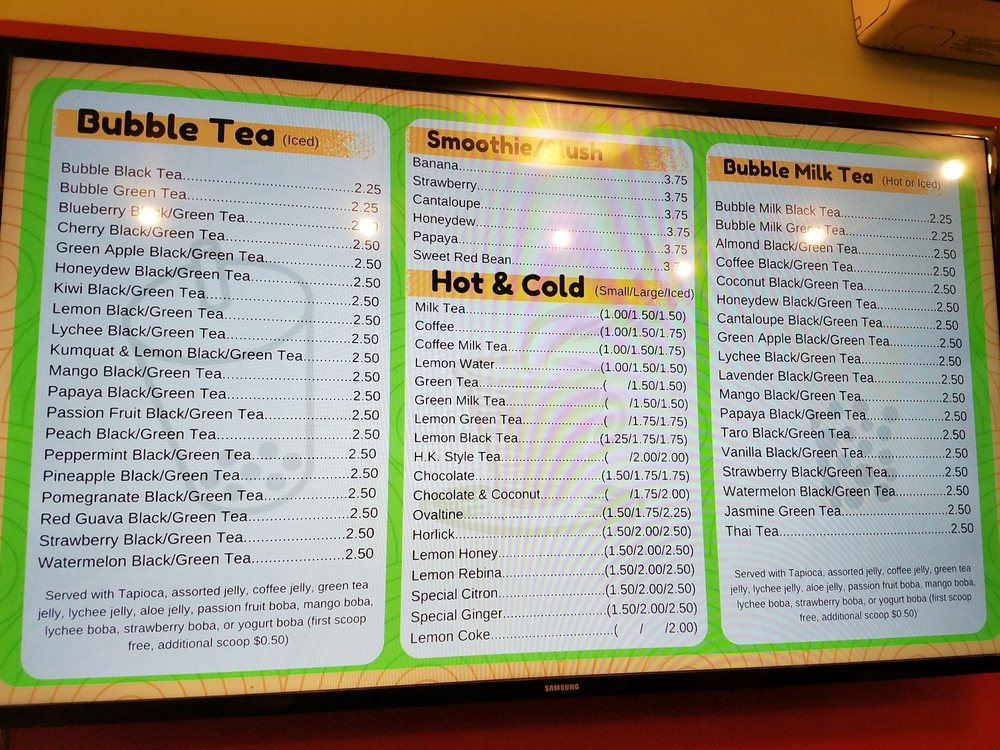 Photo of Mee Cafe - New York, NY, United States. Hot and Cold like Katy Perry