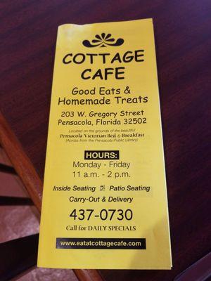 Cottage Cafe 203 W Gregory St Pensacola Fl Restaurants Mapquest