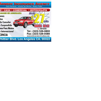 Monroy Insurance Agency Request A Quote Tax Services 4480 Whittier Blvd Los Angeles Ca Phone Number Yelp