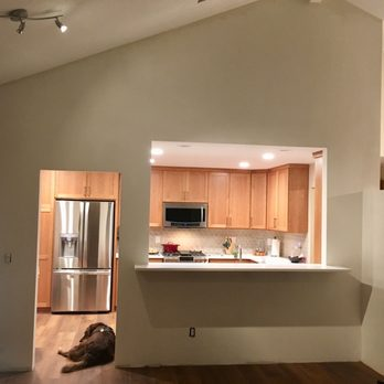 Widened Opening Into Kitchen Main