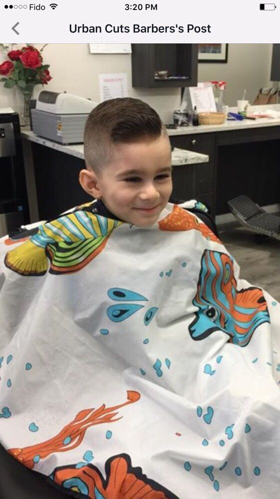 Get the latest type of fades for kids  comb over hair cut