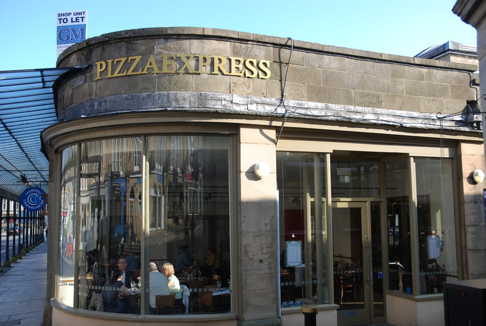 Pizza Express Italian Cavendish Arcade Buxton