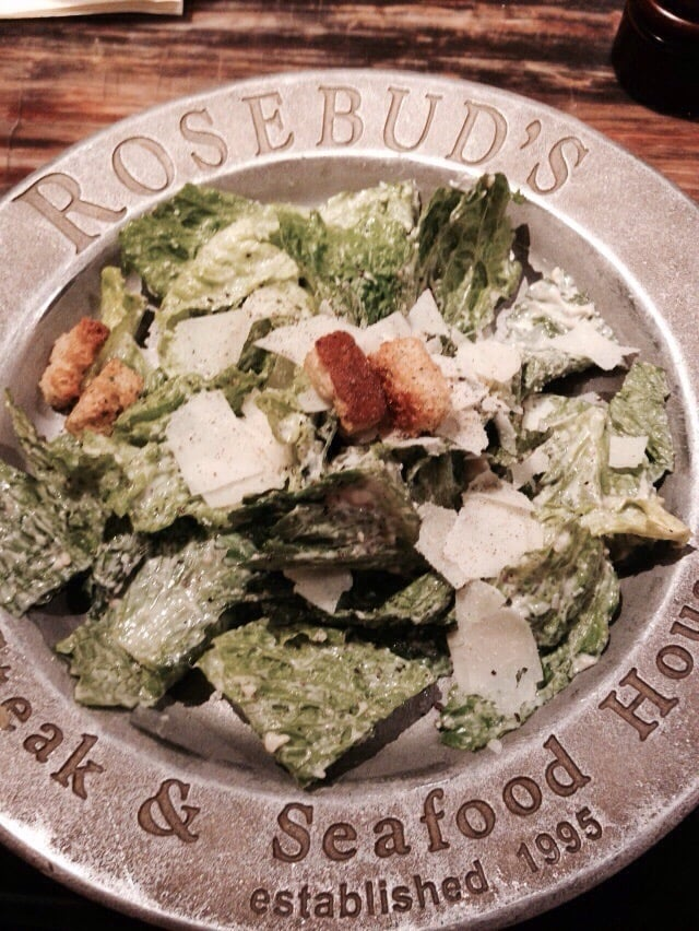 Photo of Rosebuds - Osprey, FL, United States. Caesar salad