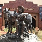 Photo of Autry Museum of the American West - Los Angeles, CA, United States. Statue outside the front entrance.