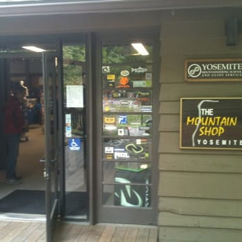 Yosemite Mountain Shop - Outdoor Gear - 9020 Curry Village Dr, Yosemite  National Park, CA - Phone Number - Yelp