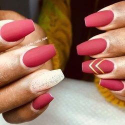 usa nails triangeln