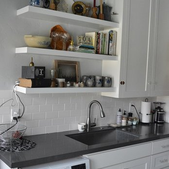 After - early 1900s era apartment kitchen remodel(Burbank ...