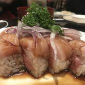 Photo of Hanami Sushi - Sherman Oaks, CA, United States. Toro toro roll is bomb! Fatty pieces of fish too!