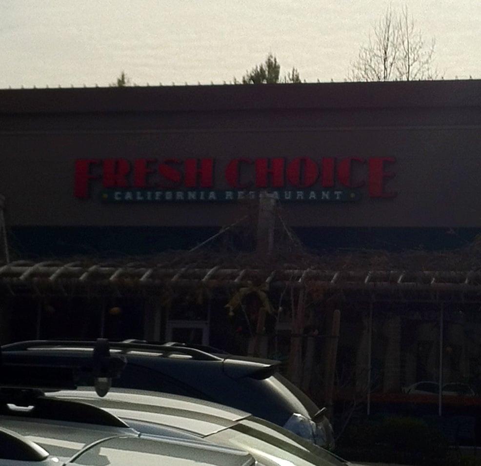 Fresh Choice Restaurants Closed See