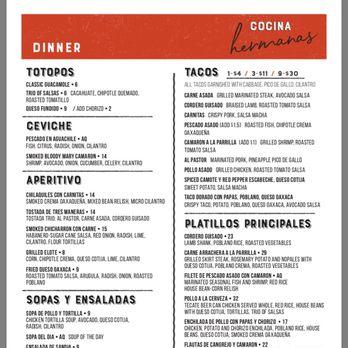 Cocina Hermanas 356 Photos 383 Reviews Mexican 501 Hartz