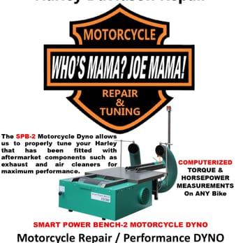 Who S Mama Joe Mama H D Cycle Repair 15 Reviews Motorcycle Repair 1156 E Green St Franklin Park Il Phone Number Yelp I asked who joe mama was at 3am. who s mama joe mama h d cycle repair