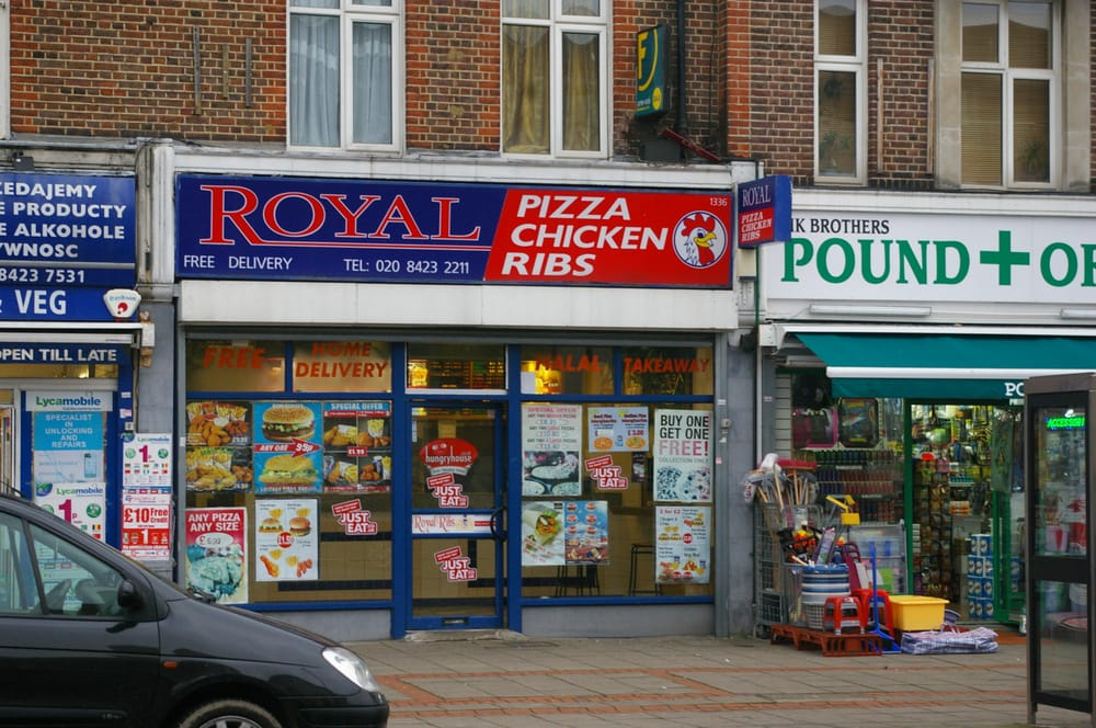 Royal Ribs Pizza And Chicken Takeaway Fast Food 1336