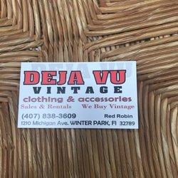 f863cd58dd5 Deja Vu Vintage Clothing