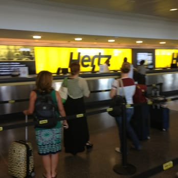 Hertz Atlanta Airport >> Exit From The Hertz Car Rental Place Yelp