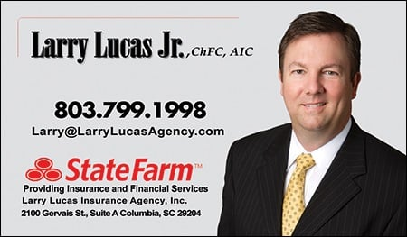 Larry Lucas State Farm Insurance Agent Home Rental Insurance 2100 Gervais St Columbia Sc Phone Number Yelp