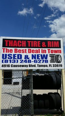 Used Tires Tampa >> Thach Used Tires 4916 Causeway Blvd Tampa Fl Tire Dealers