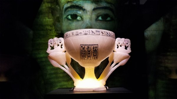 Photo of California Science Center - Los Angeles, CA, US. Tutankhamun's Wishing Cup