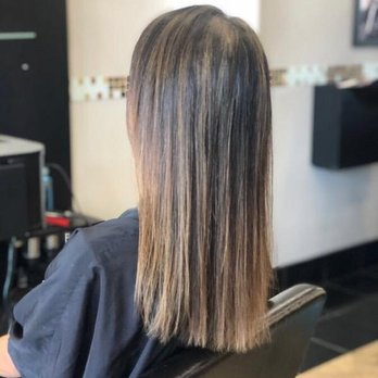 Hair cut and coloring by Yalda. I have very fine hair and ...