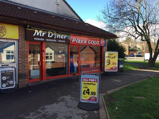 Pizza Go Go Pizza Unit 1 Westons Way Bristol South