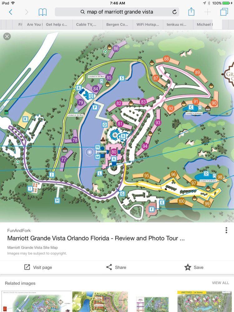 marriott grande vista orlando resort map Marriott S Grande Vista Updated Information 553 Photos 327 marriott grande vista orlando resort map