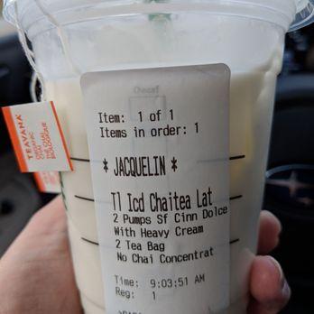 Keto friendly chai tea latte - Yelp