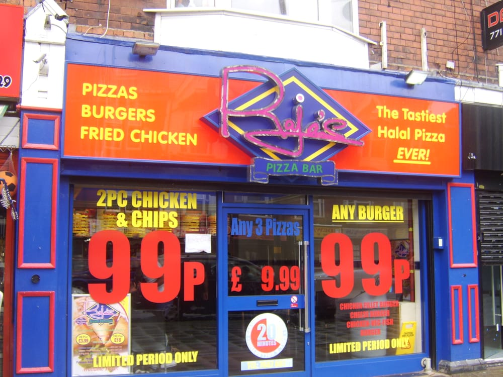 Rajas Pizza Bar Pizza 584 Coventry Road Birmingham