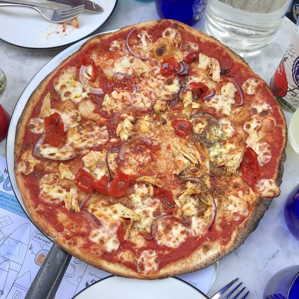 Pizza Express Pizza 39 Abbey Road St Johns Wood