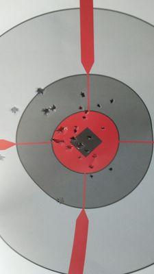 Photo of SWAT Gun Club - Honolulu, HI, US. My boyfriend's target.