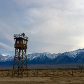 Photo of Manzanar National Historic Site - Independence, CA, United States. Guard tower
