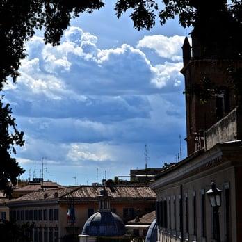 View Of Terrazza Del Pincio From Piazza Del Popolo Yelp