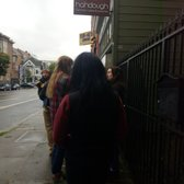 Photo of Hahdough - San Francisco, CA, United States. Line out the door at 0920
