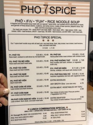 Pho 7 Spice 4830 Carlisle Pike Mechanicsburg Pa Restaurants Mapquest