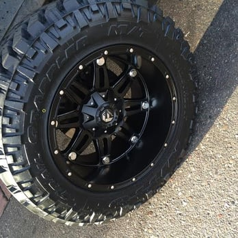35 Inch Nitto M T Tires With 20 Black Fuel D531 Rims Yelp