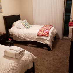 Photo of Live In Fitness - Long Beach, CA, United States. My bedroom, shared it with someone one of the weeks I was here.