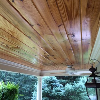 Porch Ceiling Tongue And Groove Pine