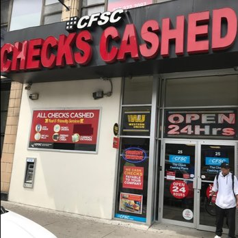 Cfsc Checks Cashed Check Cashing Pay Day Loans 25 Willoughby St New York Ny Phone Number
