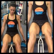 Photo of Somi Fitness - Miami, FL, United States. At Somi they are always pushing you for one more rep!