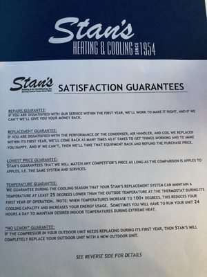 Stan S Heating Air Plumbing 6016 Dillard Cir Austin Tx
