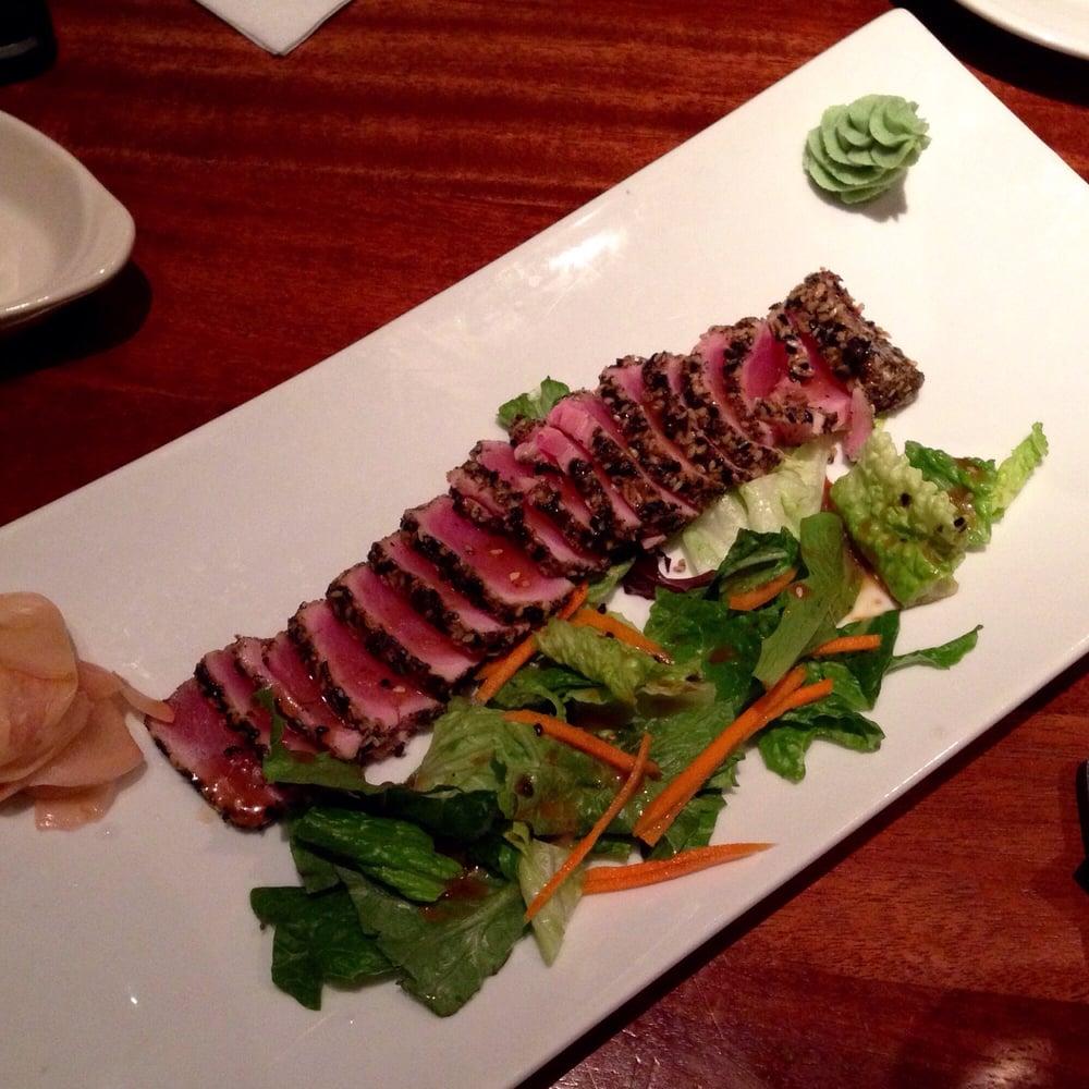 Photo of Stonewood Grill & Tavern - University Park, FL, United States. Seared ahi tuna