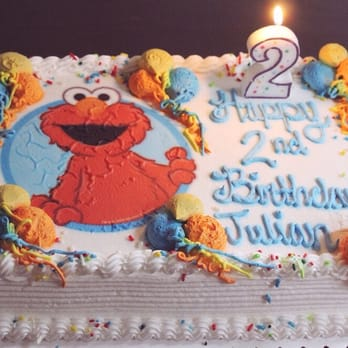 Elmo Birthday Cake Yelp