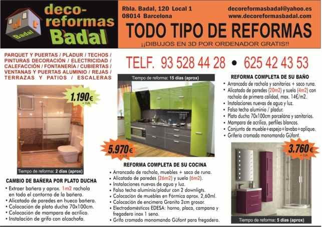 Deco Reformas Badal Tindahan Ng Furniture Rambla De