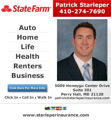 Patrick Starleper State Farm Insurance Agent Auto Insurance 9609 Belair Rd Nottingham Md Phone Number Yelp