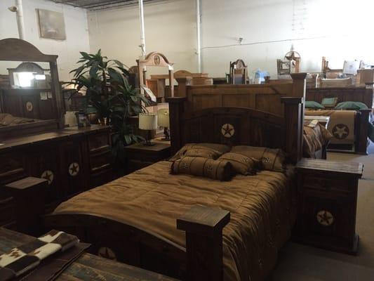 Lone Star Rustic Furniture 14039 Fm, Alvin Texas Rustic Furniture