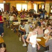 Photo of Angeles Crest Christian Camp - La Cañada, CA, United States. Dining Hall